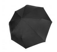 """Зонт """"Три Слона"""" мужской №720-L, купол D=122 см, 8 спиц, черный, ручка крюк кожа, семейный"""