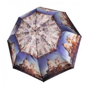 """Зонт """"Три Слона"""" женский №882-a-2, 8 спиц, купол D=97 см (R=55 см), полуавтомат, фотосатин"""