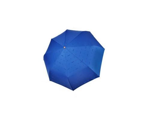 "Зонт ""Три Слона"" женский №885-1, 8 спиц, купол R=55 см, синий, хамелеон"