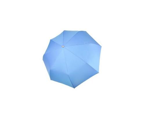 "Зонт ""Три Слона"" женский №885-3, 8 спиц, купол R=55 см, голубой, хамелеон"