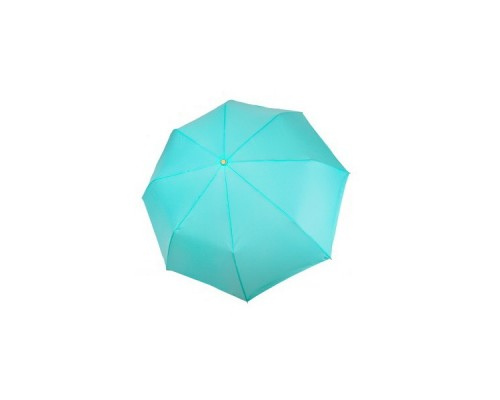 """Зонт """"Три Слона"""" женский №885-5, 8 спиц, купол R=55 см, мятный, хамелеон"""